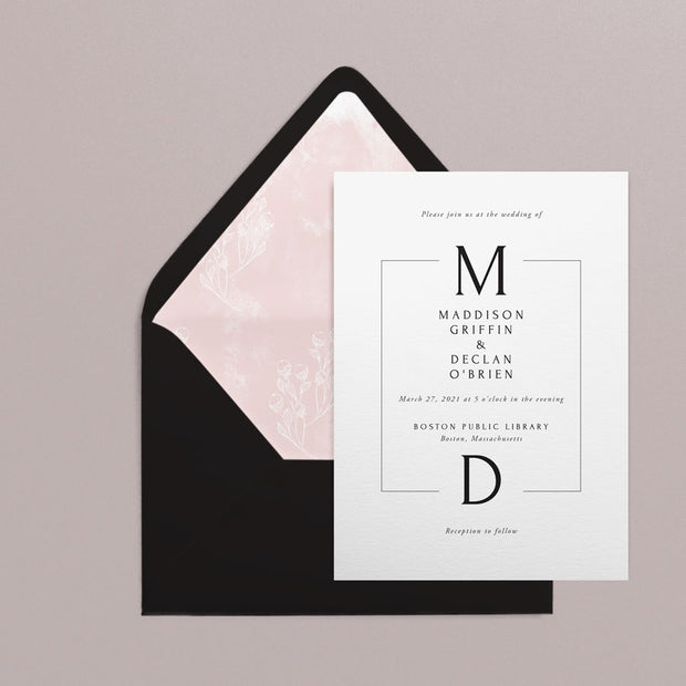 Maddison Invitations