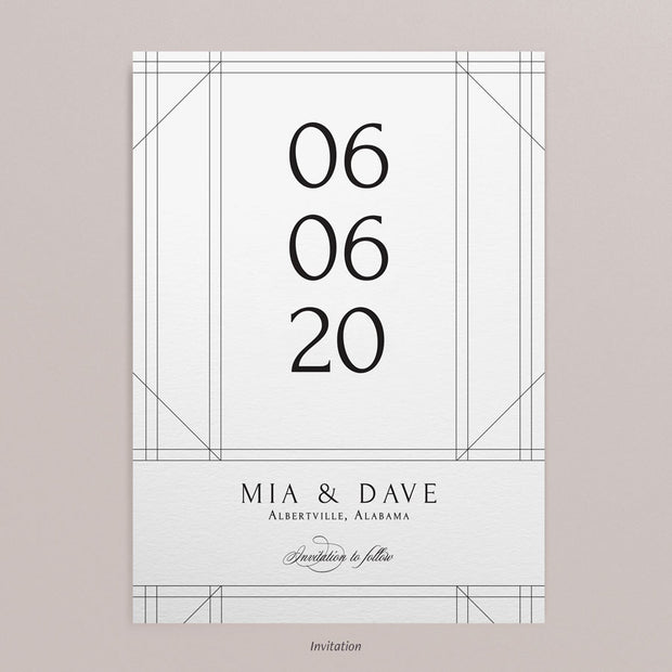 Mia Save The Dates
