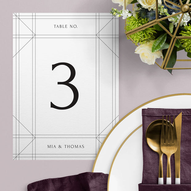 Mia Table Numbers