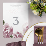 Delma Table Numbers