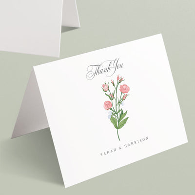 Sarah Thank You Cards