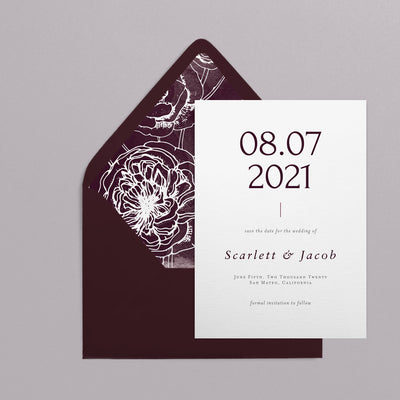 Scarlett Save The Dates