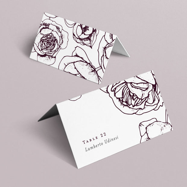 Scarlett Place Cards