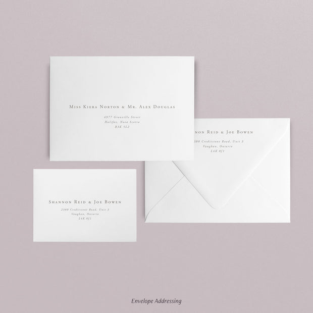 Shannon Invitations