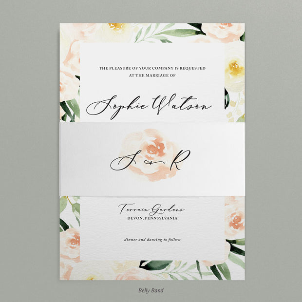 Sophie Invitations