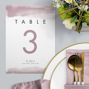 Stefany Table Numbers