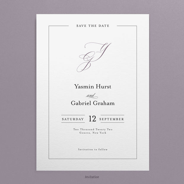 Yasmin Save The Dates