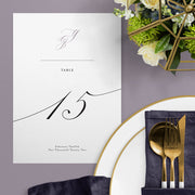 Yasmin Table Numbers