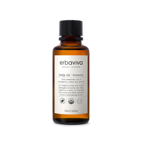 Erbaviva Body Oil Breath 120ml