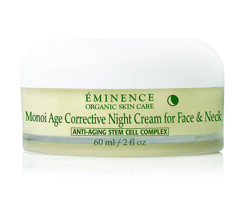 Eminence Organics Monoi Age Corrective Night Cream for Face & Neck 2 oz / 60 ml
