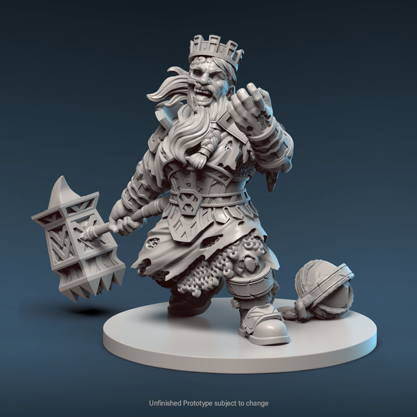 Mini: Zaar Anathema, the King in Gold (Preorder)