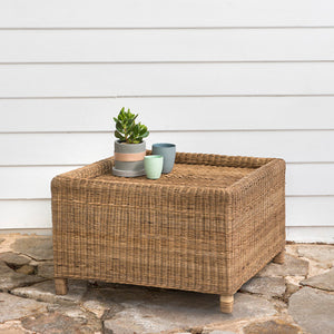 box coffee table malawi cane
