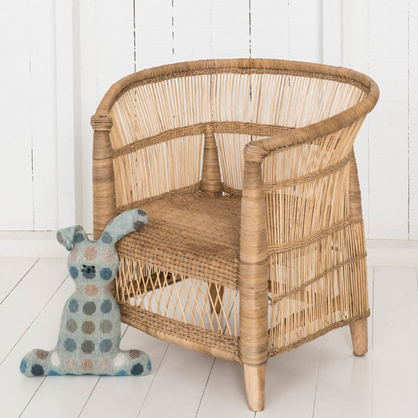Traditional Children's chair malawi cane
