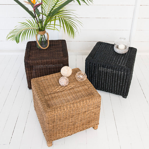 classic side table malawi cane