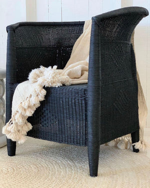 Traditional Closed-Weave 1-seater