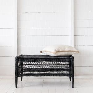 Traditional Open-Weave Coffee Table malawi cane