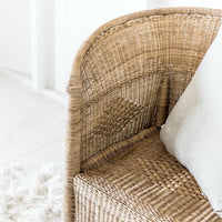 closed weave 1 seater malawi cane