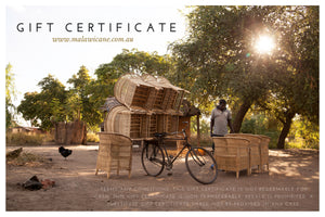 Malawi Cane Gift Certificate