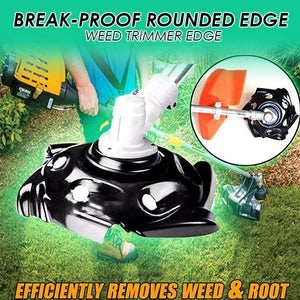 Break-proof Rounded Edge Weed Trimmer Edge