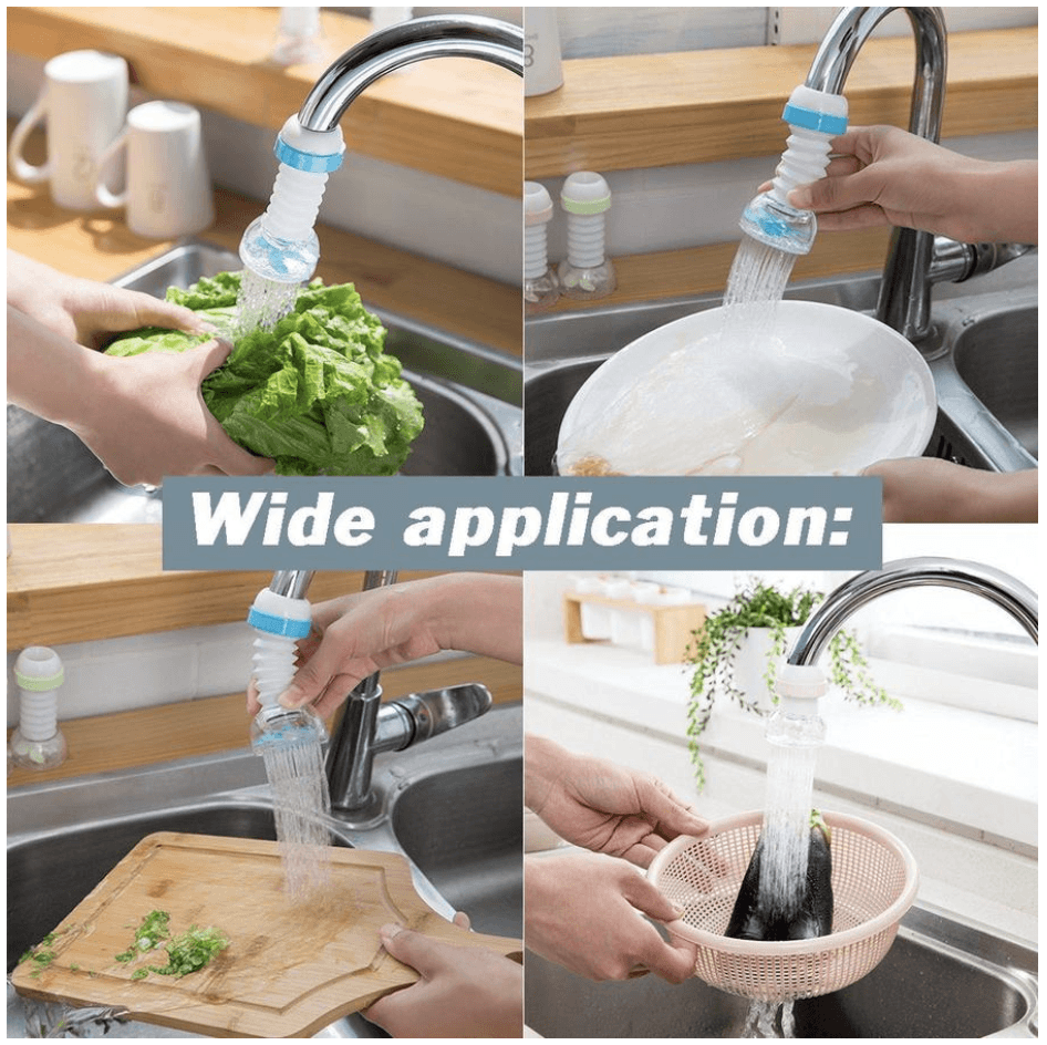 Rotatable Water-Saving Faucet Head