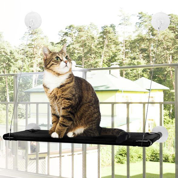 Cat Window Perch Hammock Cat Bed Holds (Up to 60lbs)