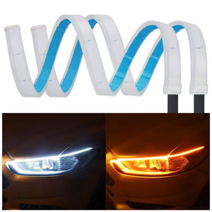 (Independence Day Promotion!!! 60% off) - Flexible DRL LED Night & Daytime Running Light Strip