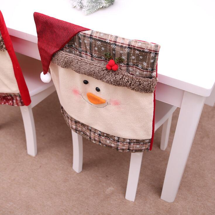 Christmas restaurant chair cover(Set of 2)