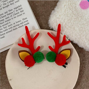 Christmas Elk Hair Clip(A Pair)