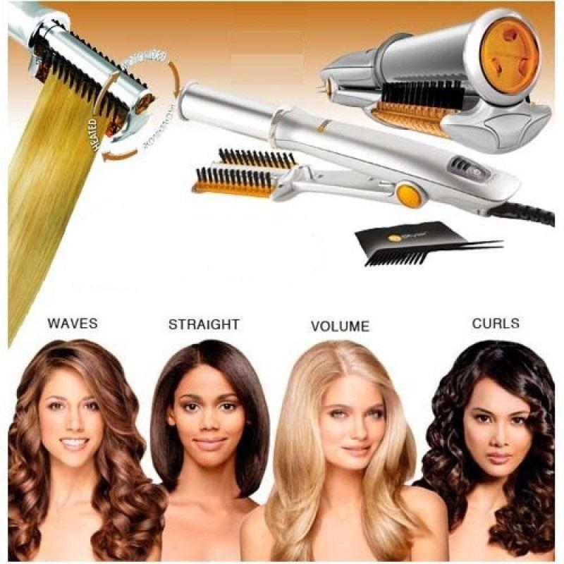 (Limited Sale: 65%Off+Free Shipping!!!)  2-Way Rotating Curling Iron