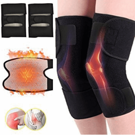 Magnetic Therapy Self-Heating Knee Pads