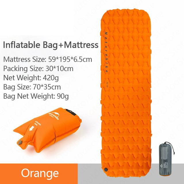 Comfee-TM Pulse Trekking/Camping Mattress | Gigatrendy.com