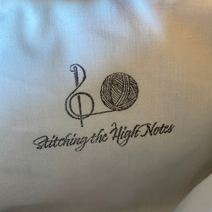 Christmas Night Notions Bag