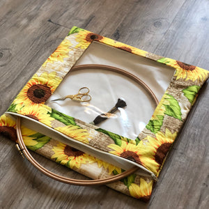 Autumn Fleurs Large Needlework Bag