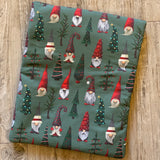 Christmas Gnomes Needlework Bag