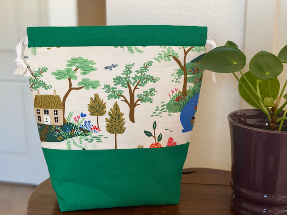English Garden Drawstring Bag