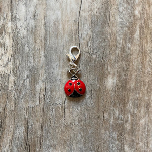 Lady Bug Stitch Marker