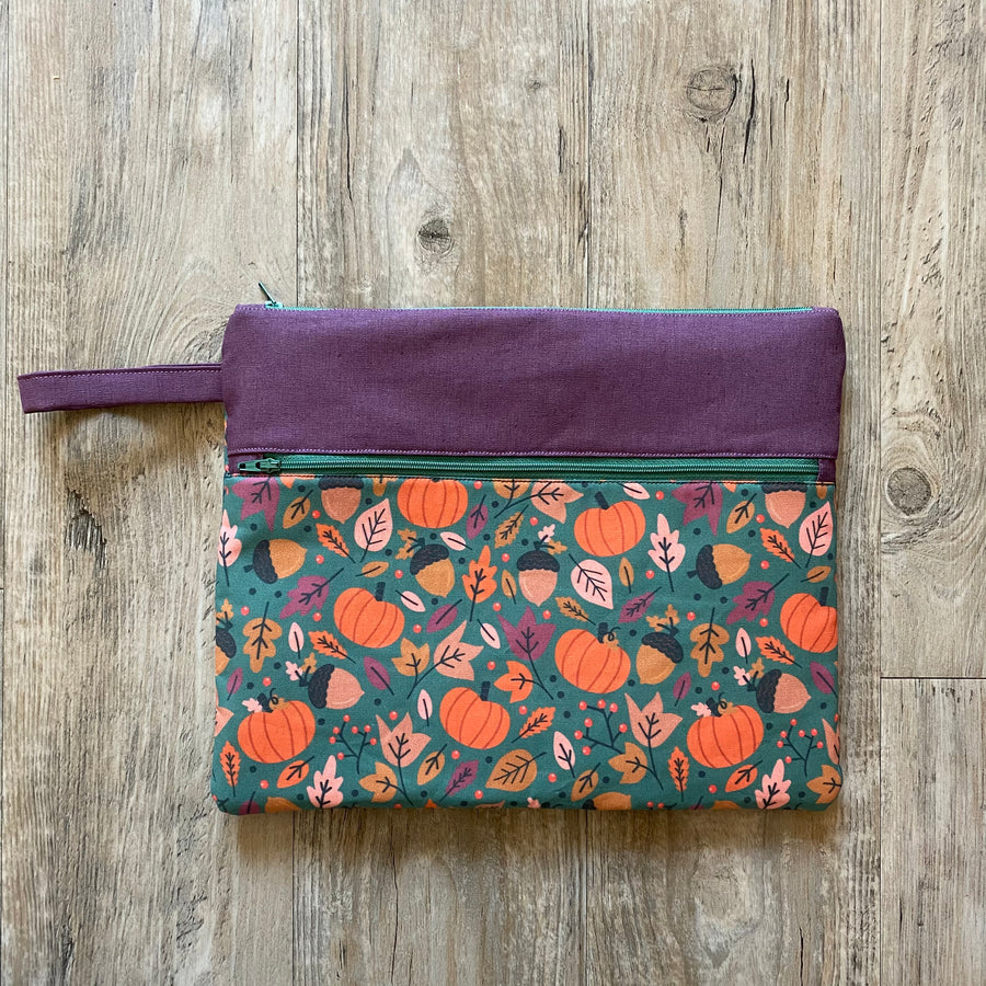 It's Always Pumpkin Season Needlework Pouch