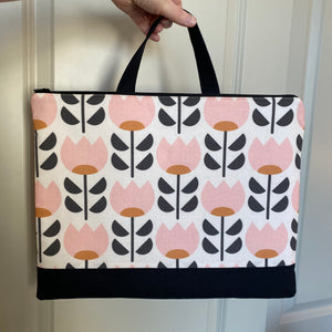 Spring Tulips Maker's Briefcase