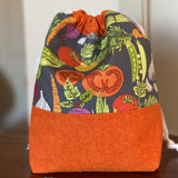 Vegetable Garden Drawstring Bag