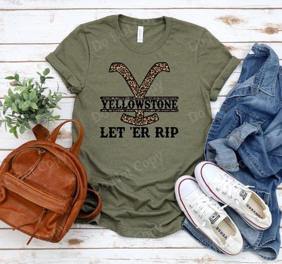 Yellowstone, Let 'Er Rip (Preorder)
