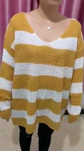 Load image into Gallery viewer, Mel's Striped Sweater - 4 color choices