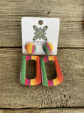 Serape  Earrings