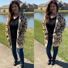 Load image into Gallery viewer, Leah's Leopard Cardigan