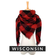 Load image into Gallery viewer, Wisconsin  Scarf