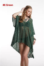 Load image into Gallery viewer, Connie Crochet Cover Up w/tassels
