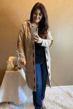 Load image into Gallery viewer, Tori's cardigan sweater with hoodie