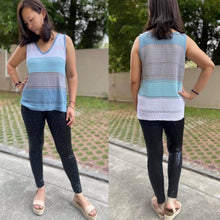 Load image into Gallery viewer, Christi V-Neck Color Block Tank