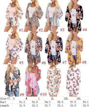 Load image into Gallery viewer, Patty Printed Kimono