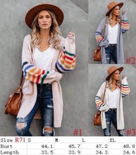 Load image into Gallery viewer, Reese's rainbow sleeves Cardi