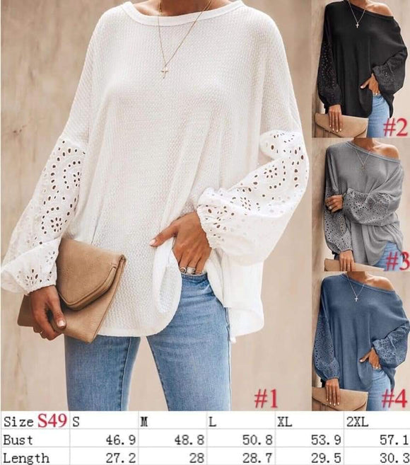 Kelly's on or off the shoulder top